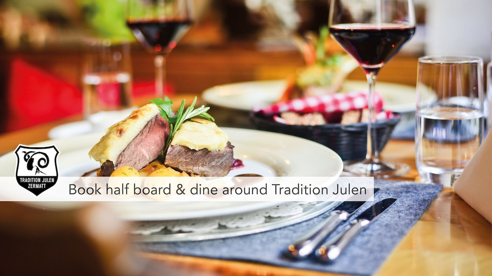 Food and Drink, Tradition Julen Hotel