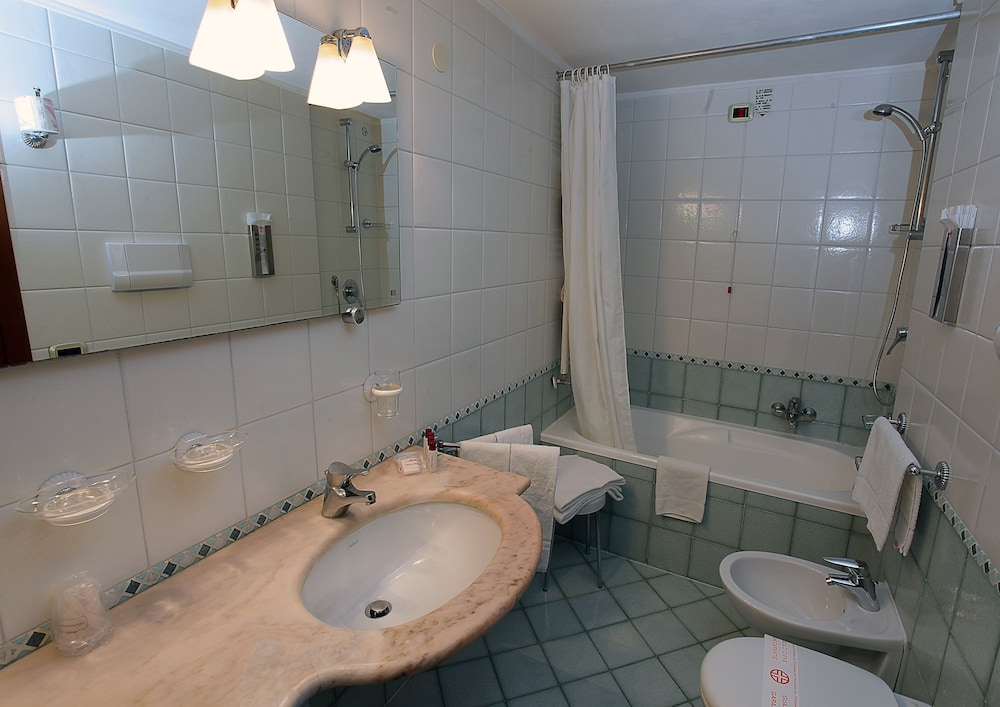 Bathroom, Hotel San Moisè