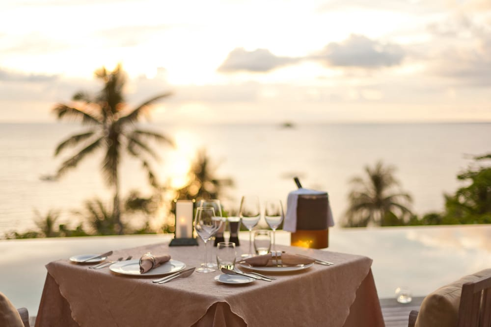 Outdoor Dining, Trisara Villas & Residences Phuket