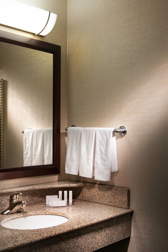 Bathroom, SpringHill Suites by Marriott Dallas DFW Airport N/Grapevine