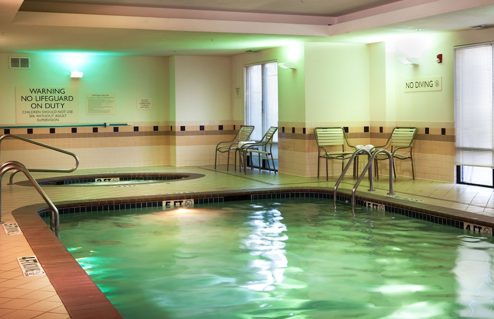 Indoor Pool, SpringHill Suites by Marriott Dallas DFW Airport N/Grapevine
