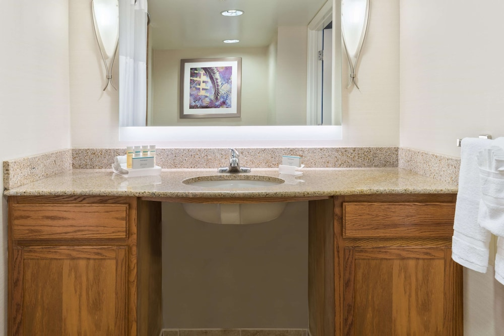 Bathroom, Homewood Suites by Hilton® Orlando-UCF Area
