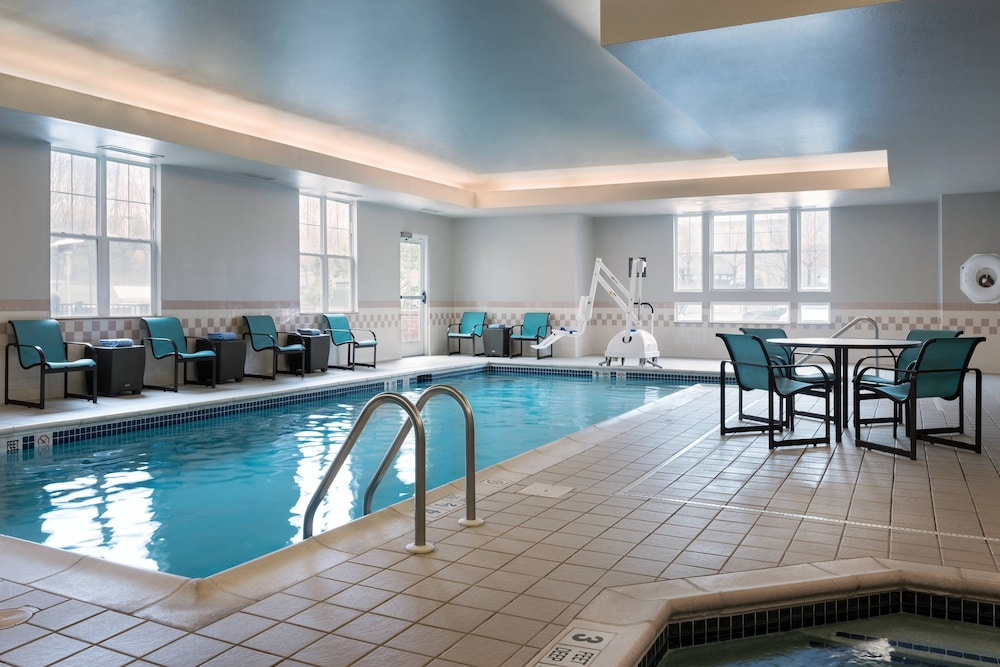 Indoor Pool, Residence Inn by Marriott Poughkeepsie