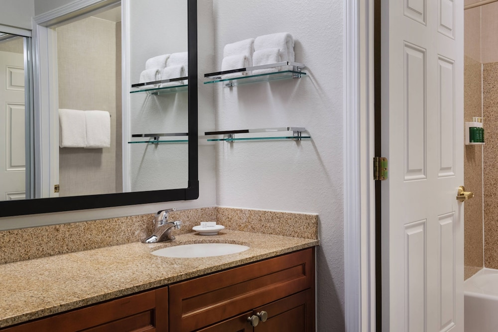 Bathroom, Residence Inn by Marriott Poughkeepsie