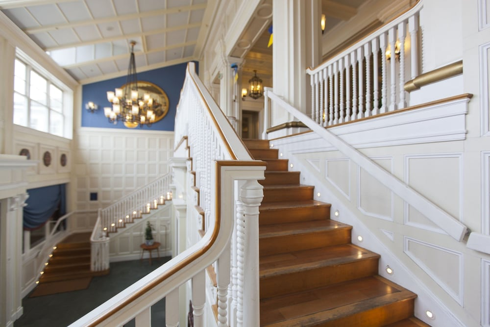 Staircase, Disney's Newport Bay Club