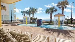 3 indoor pools, 2 outdoor pools