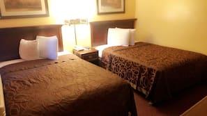 Blackout drapes, iron/ironing board, free WiFi