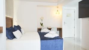 Minibar, Zimmersafe, individuell dekoriert, individuell eingerichtet