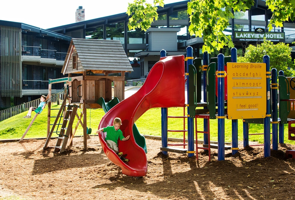 Children's Play Area - Outdoor, The Lakeview Hotel, Shanty Creek Resort