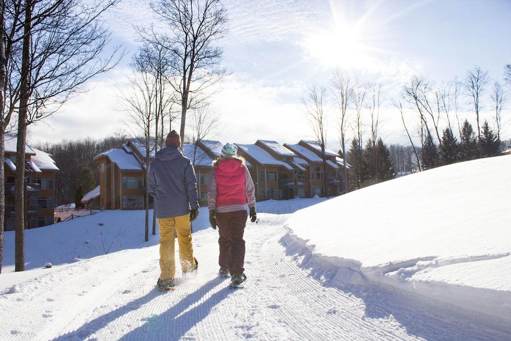 Snowshoeing, The Lakeview Hotel, Shanty Creek Resort