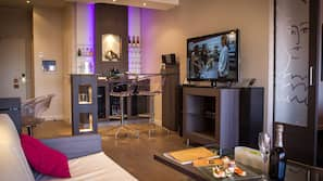 40-cm TV with satellite channels