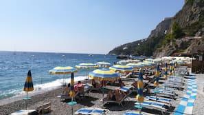 Playa privada, esquí acuático, windsurf y bar en la playa