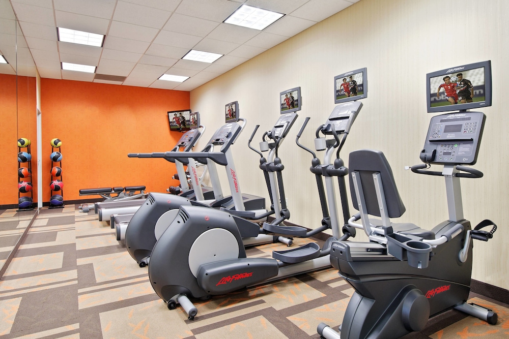 Fitness Facility, Courtyard by Marriott Little Rock Downtown