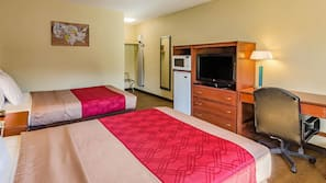 Iron/ironing board, cribs/infant beds, rollaway beds, free WiFi