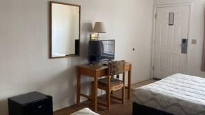 Pillowtop beds, iron/ironing board