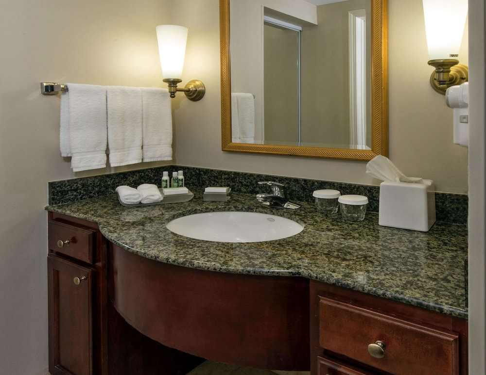 Bathroom, Homewood Suites by Hilton Knoxville West at Turkey Creek