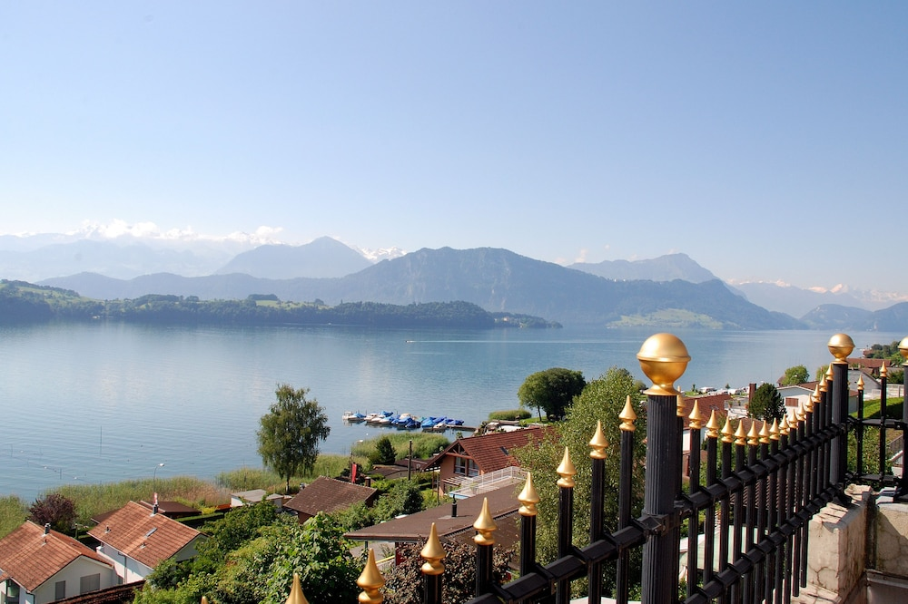View from Property, Schloss-Hotel – Swiss-Chalet Merlischachen