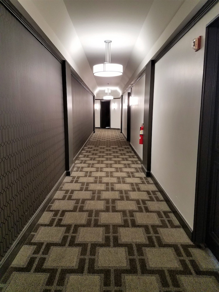 Hallway, The Buckingham Hotel