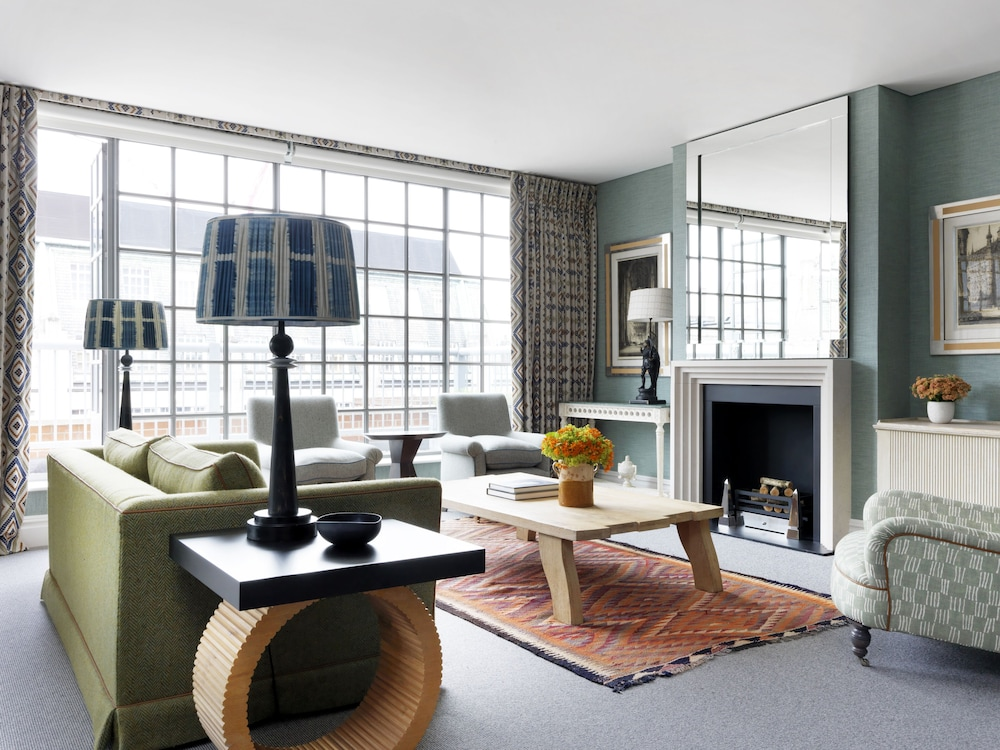 Living Room, The Soho Hotel, Firmdale Hotels