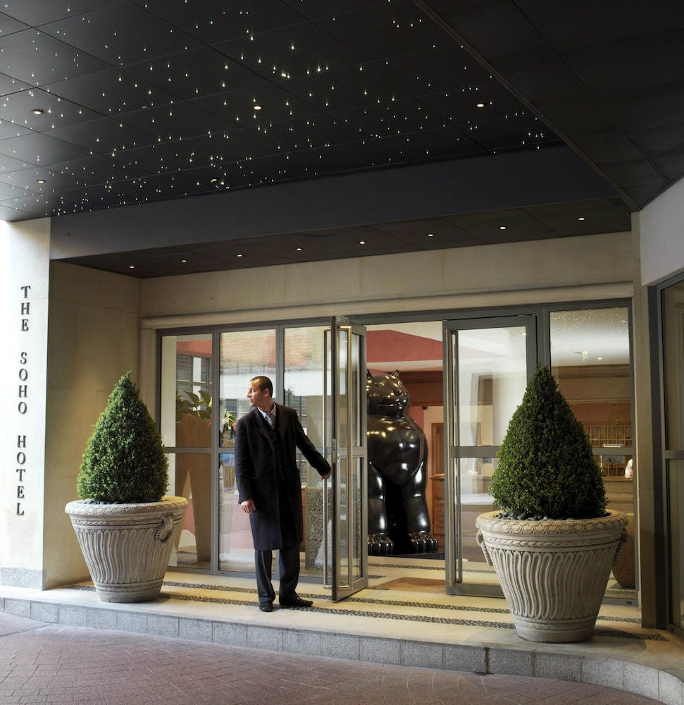 Property Entrance, The Soho Hotel, Firmdale Hotels