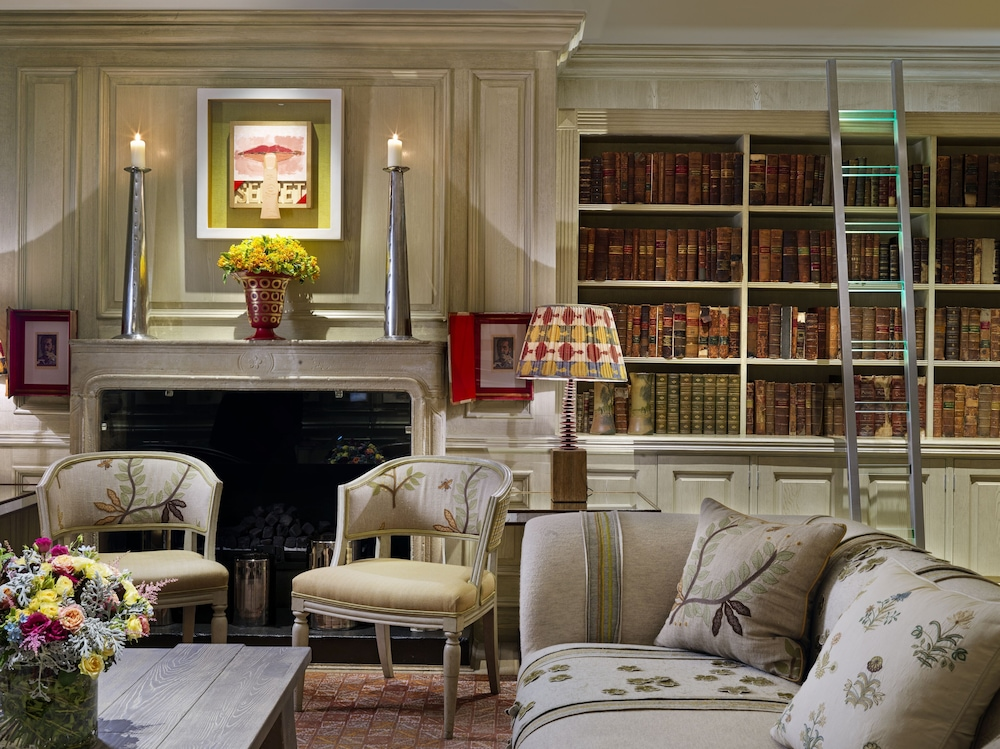 Library, The Soho Hotel, Firmdale Hotels