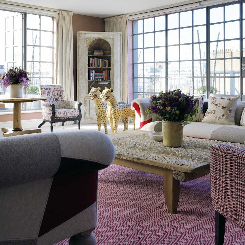Living Area, The Soho Hotel, Firmdale Hotels