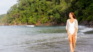 On the beach, beach bar, fishing