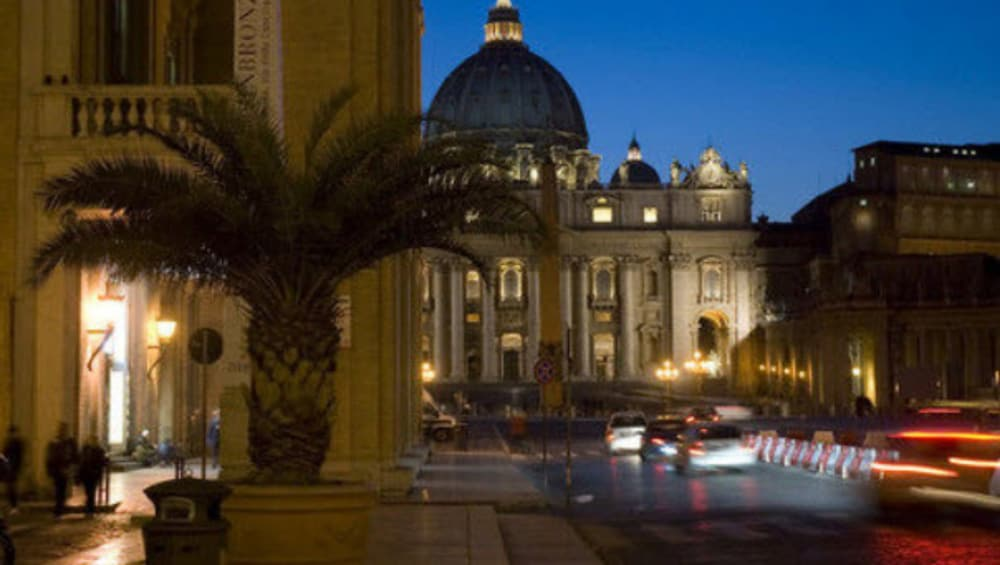 Front of Property - Evening/Night, Palazzo Cardinal Cesi