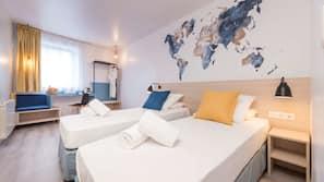 Schallisolierte Zimmer, kostenpflichtige Babybetten, kostenloses WLAN