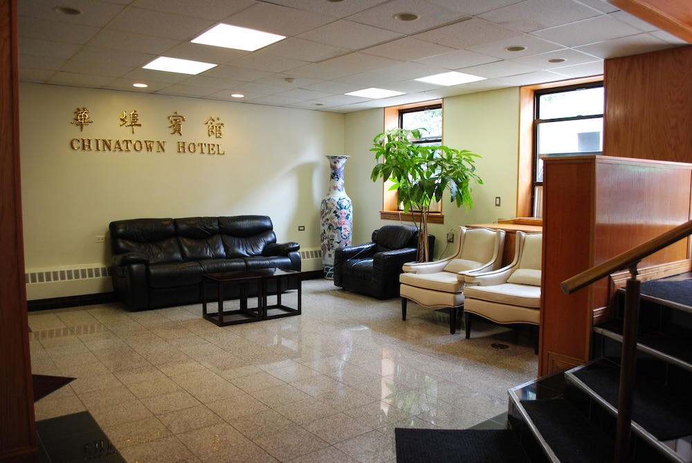 Chinatown Hotel Chicago 1 5 Out Of 0 Hallway Featured Image Lobby Sitting Area