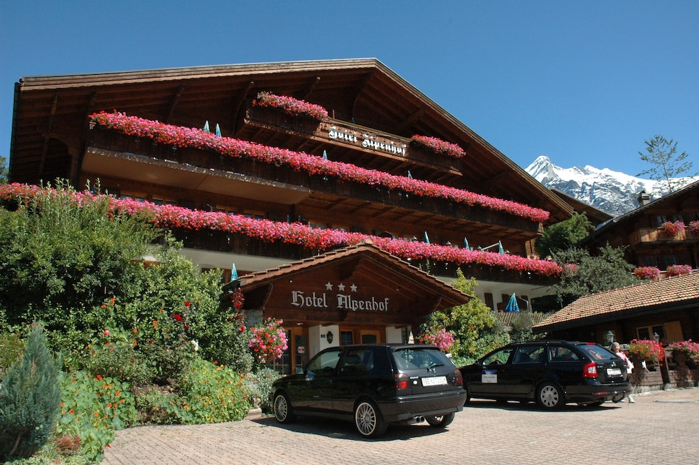 Front of Property, Hotel Alpenhof