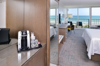 Oceanfront, 1 King Bed - In-Room Coffee