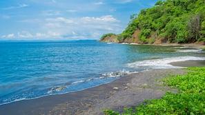 Private beach, beach towels, beach massages