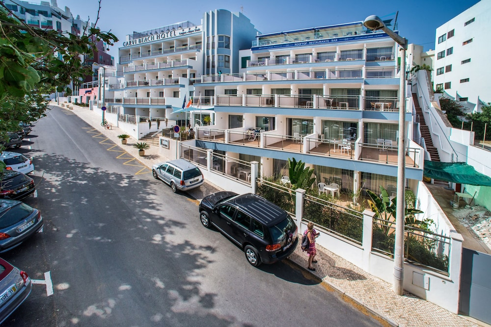 Front of Property, Carvi Beach Hotel