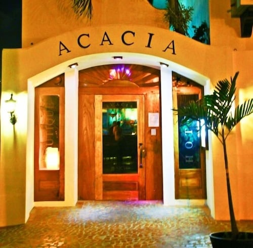 Front of Property - Evening/Night, Acacia Boutique Hotel