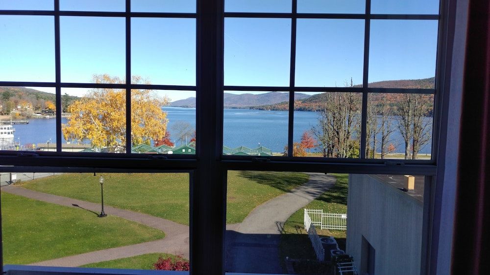 View from Room, Fort William Henry Hotel and Conference Center