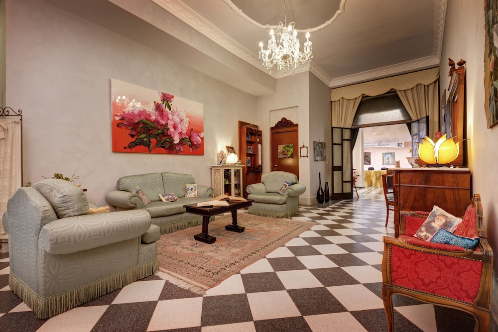Lobby Sitting Area, Hotel Residenza in Farnese