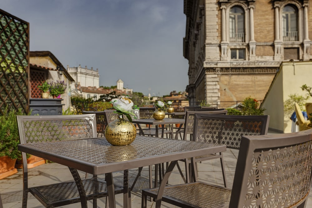 Terrace/Patio, Hotel Residenza in Farnese