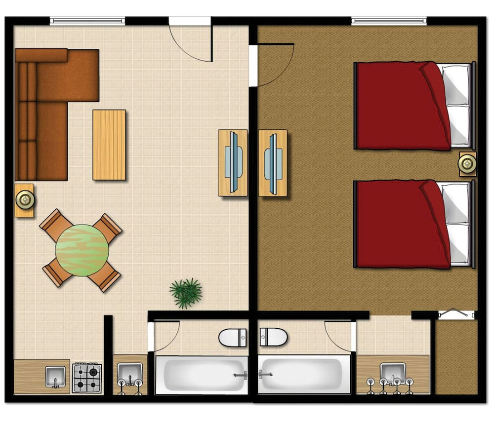Floor plan, Legacy Vacation Resorts Reno