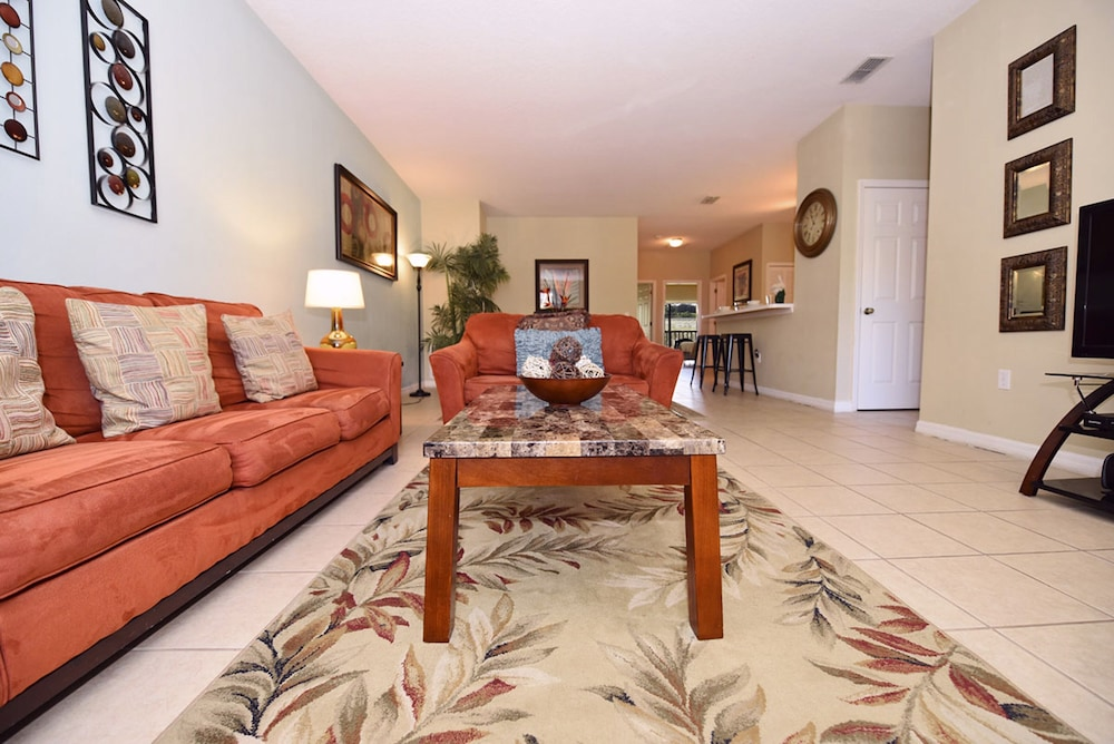 Living Area, Homes4uu Vacation Homes Orlando
