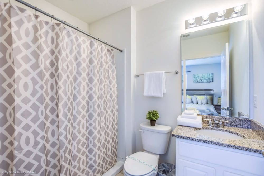 Bathroom Amenities, Homes4uu Vacation Homes Orlando