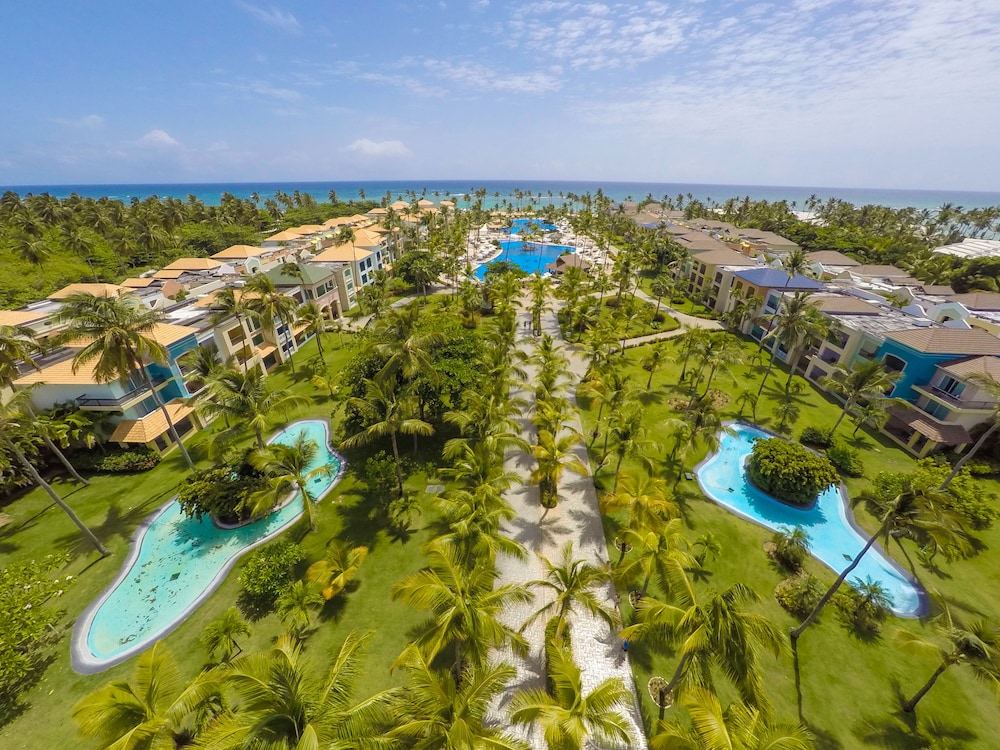 Aerial View, Ocean Blue & Sand Beach Resort - All Inclusive