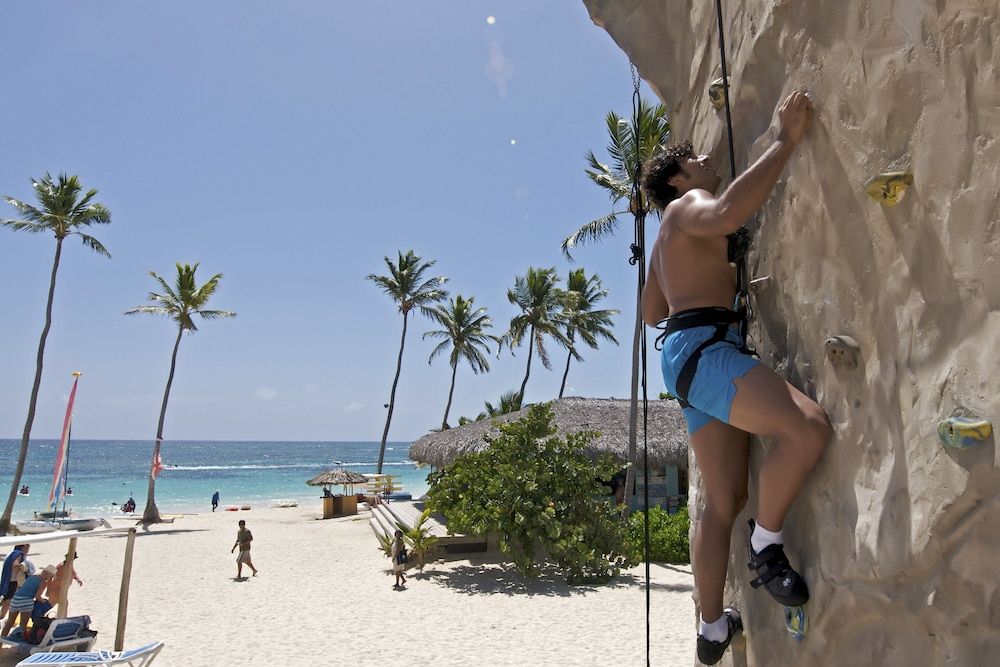 Outdoor Rock Climbing, Ocean Blue & Sand Beach Resort - All Inclusive