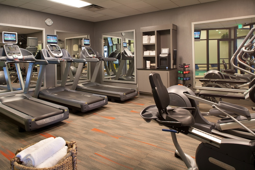 Fitness Facility, Courtyard by Marriott Tacoma Downtown