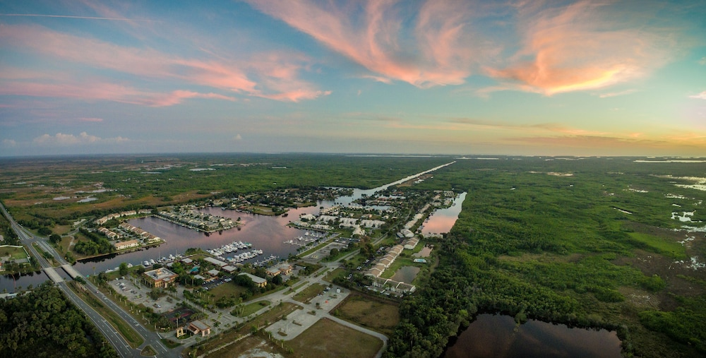 Aerial View, Port of the Islands Everglades Adventure Resort