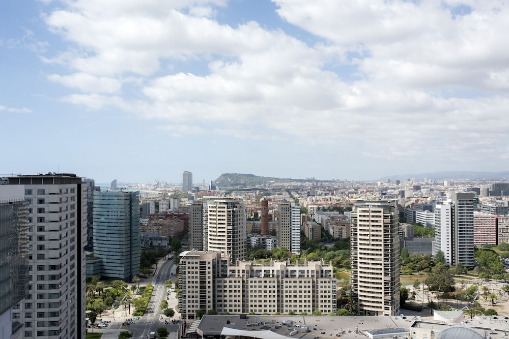 City View from Property, Hotel Barcelona Princess