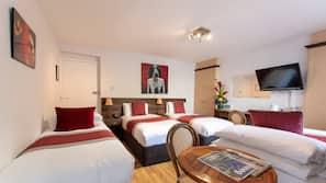 Select Comfort beds, in-room safe, desk, blackout drapes