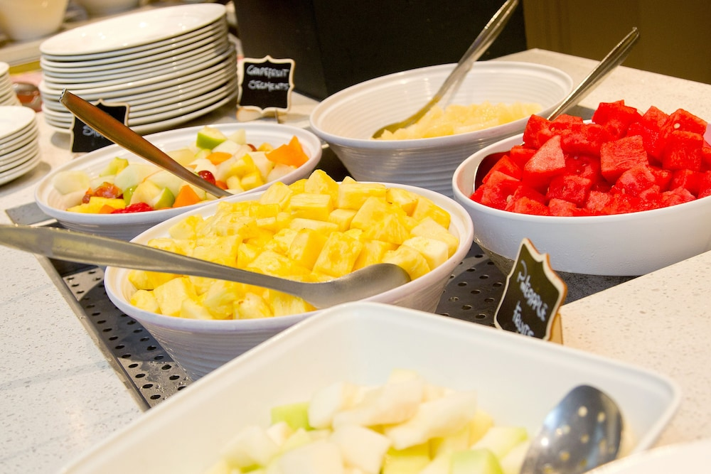 Breakfast buffet, Fitzpatrick Castle Hotel