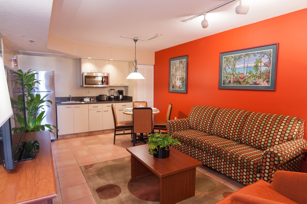 Living Area, Vacation Village at Bonaventure