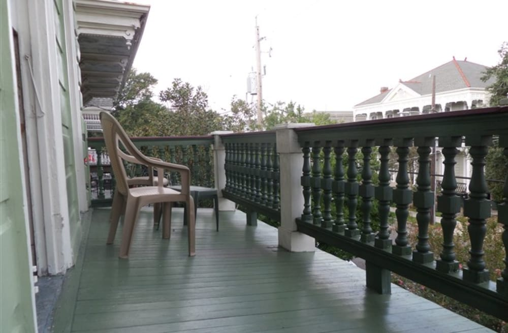 Terrace/Patio, Garden District B&B